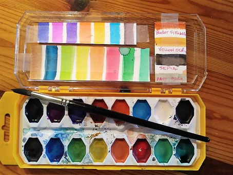 Watercolors… Wow – who knew