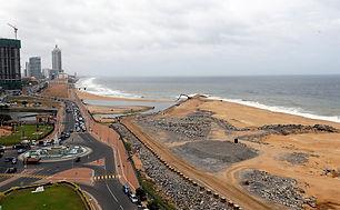 China invites India to join Sri Lanka offshore city project