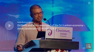 Outlook and an Assessment of the Sri Lankan economy | Amal Sanderatne | DB2016 S1K5