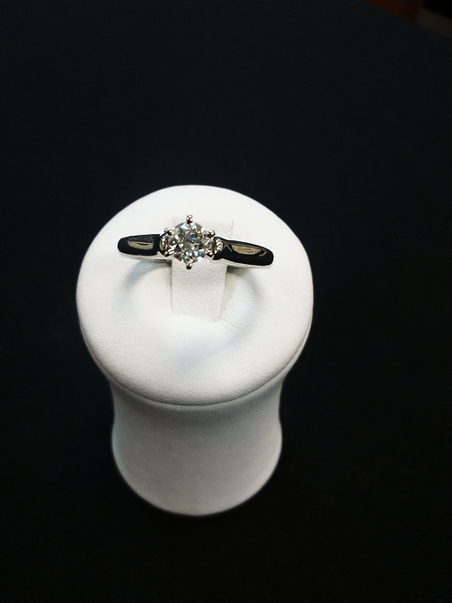 Engagement Diamond Ring 0.37 Ct.