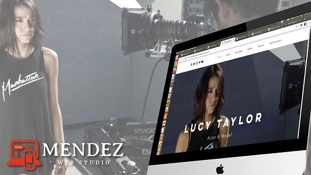 Actors` Website Design, Affordable Web Design for $87!