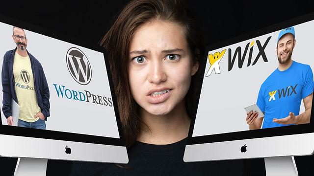 Affordable Website Design Solution. Wordpress or Wix is better?