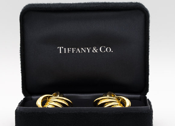 Tiffany & Co. 18 Karat Gold Love Knot Earrings