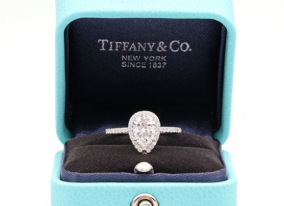 Tiffany & Co. Soleste 1.10 Carat Pear Shape Engagement Ring in Platinum