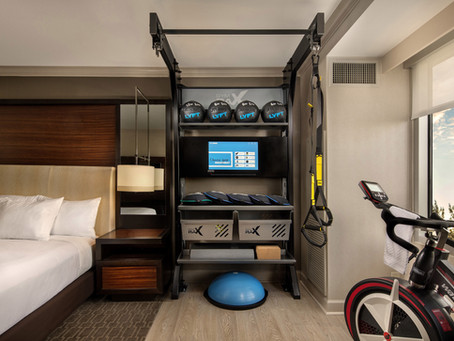 How fitness has changed the hotel game