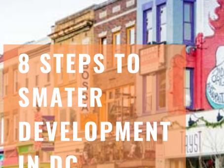 8 Steps To Smarter Development In DC