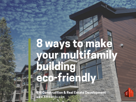 8 ways to make your multifamily building eco-friendly