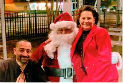 Santa & Coucilwoman Theresa and Son
