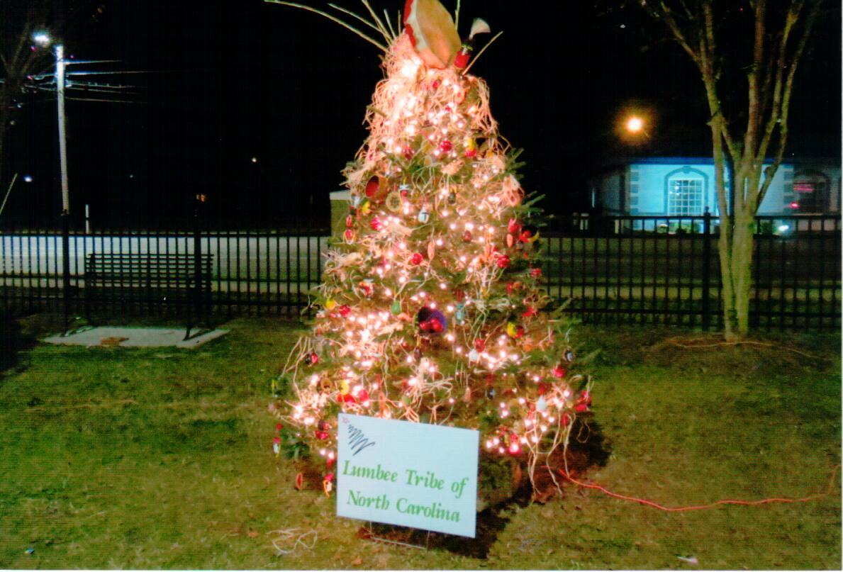 Lumbee Tribe Christmas Tree