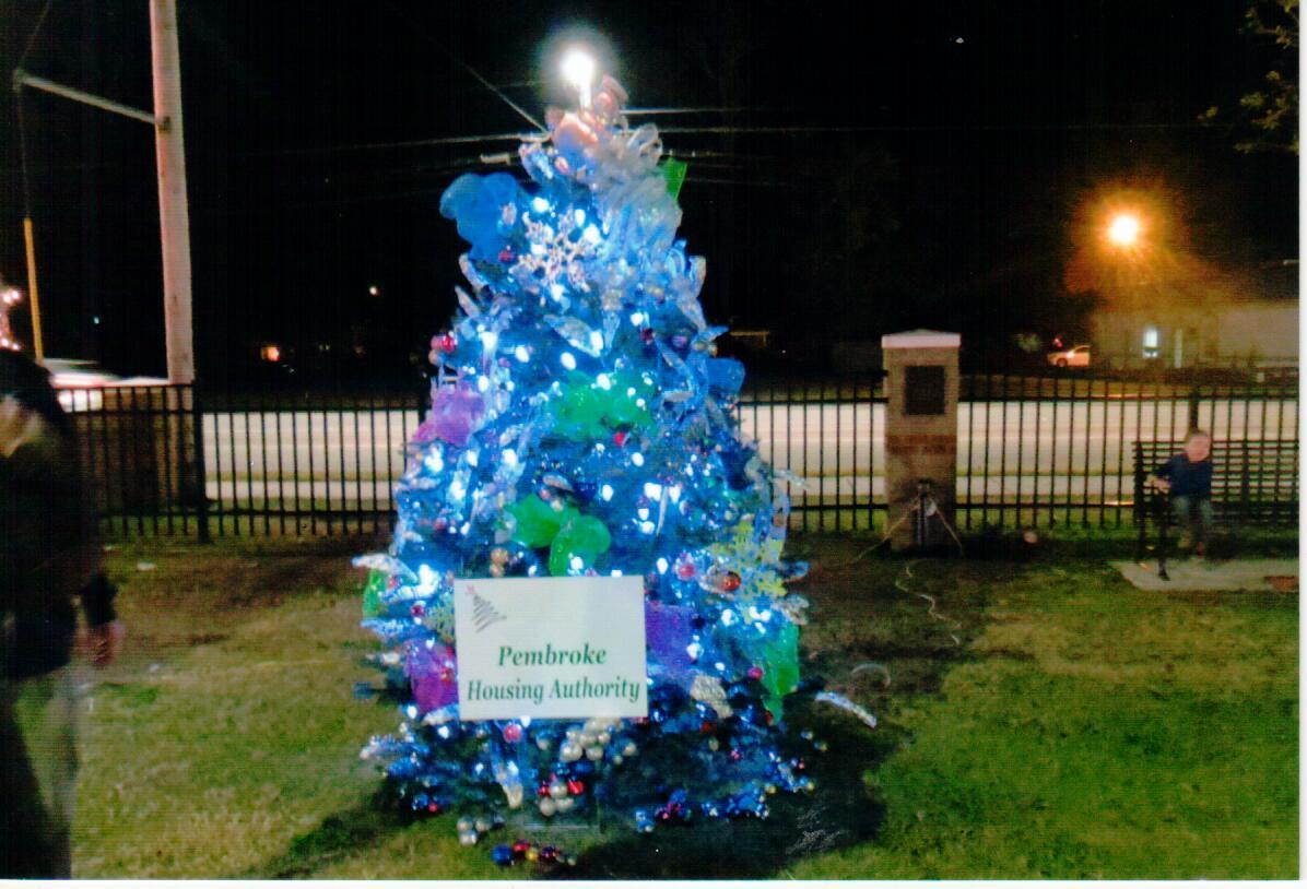 Pembroke Housing Authority Christmas Tree