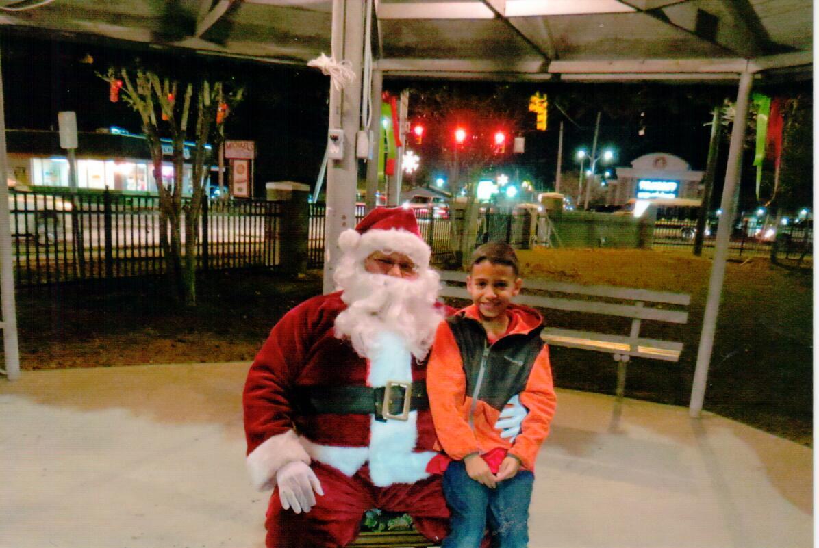 Santa & Child 2