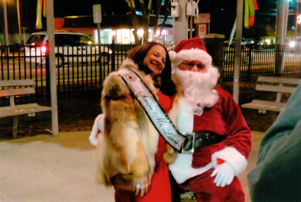 Santa & Senior Ms. Lumbee