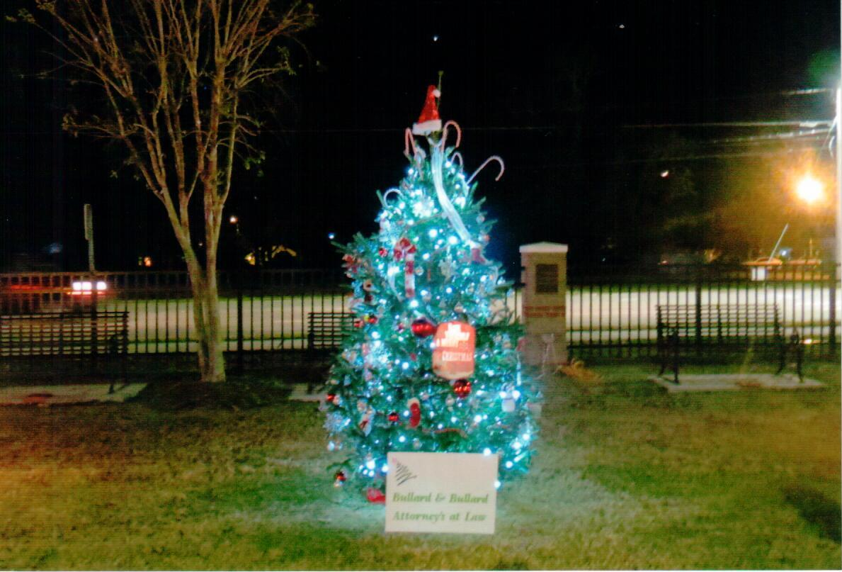 Bullard & Bullard Attorneys at Law Christmas Tree