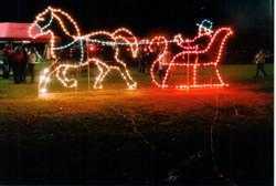 Christmas Horse & Sleigh