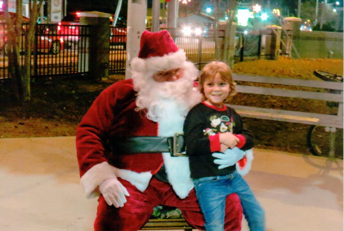 Santa & Child 3