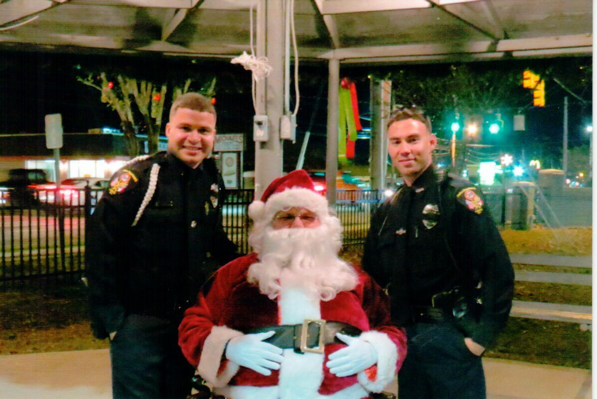 Santa & Town Officers