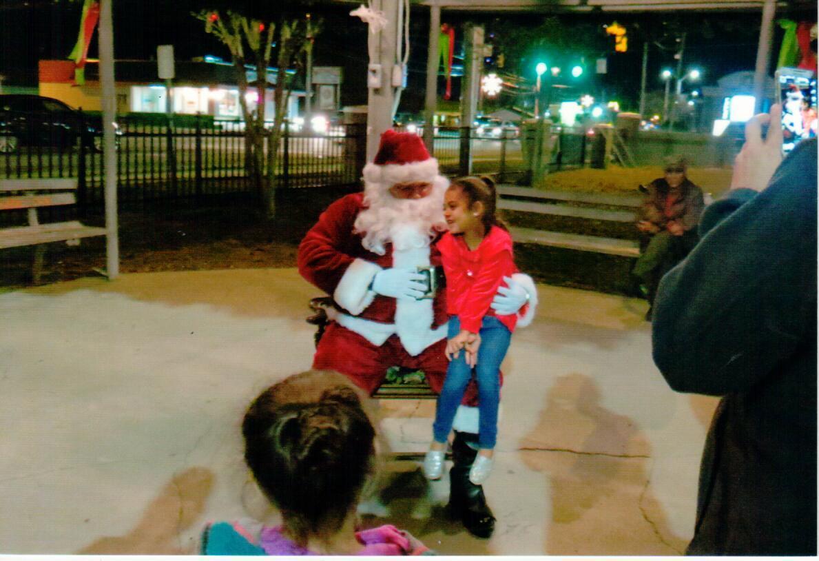 Santa & Child