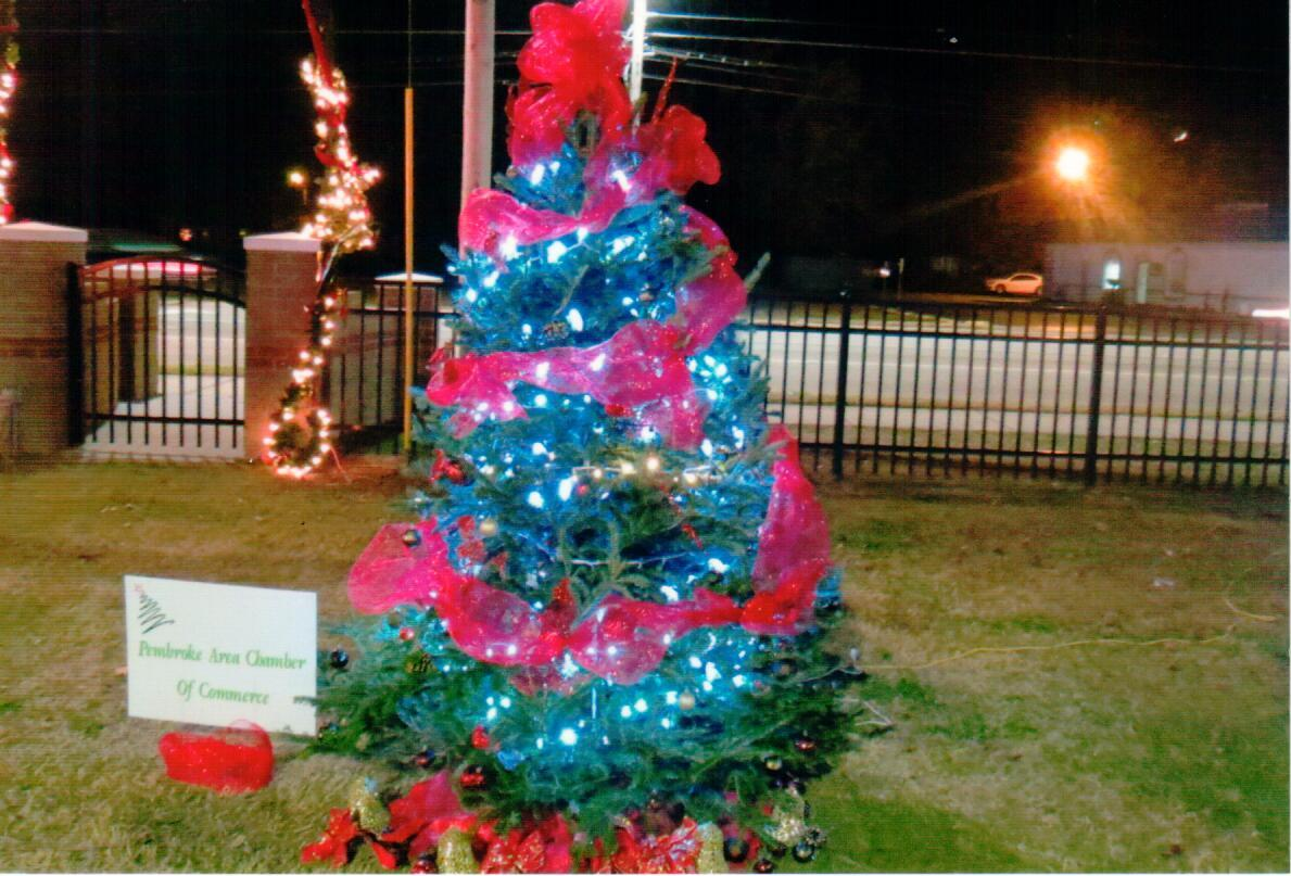 Pembroke Area Chamber of Commerce Christmas Tree