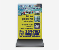 Footpath Sign Design - The Banks Peninsula Track