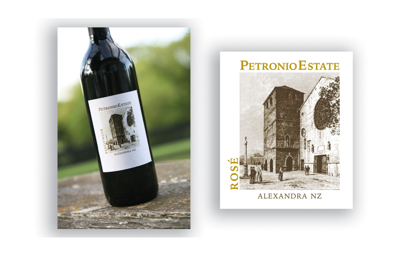 Wine Label Design - Petronio Estate