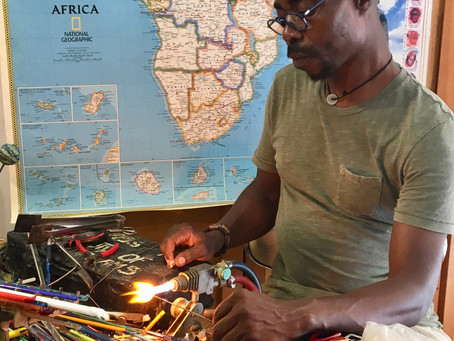 Interview with Glass Artist Moulaye Niang
