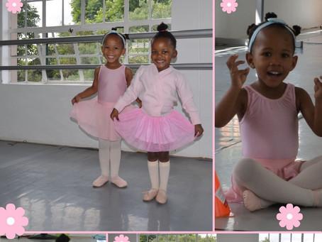 Meet our Baby Ballerinas: