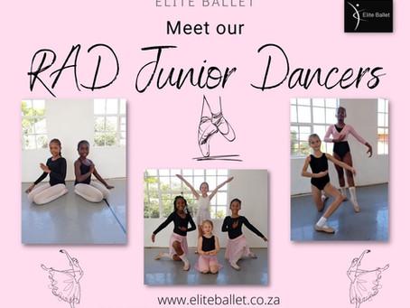 Meet our RAD Junior Dancers