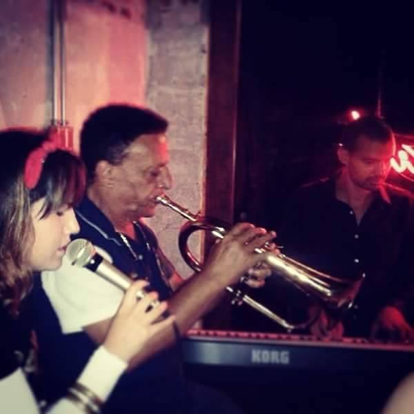 Show com Saul do Trompete
