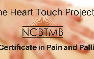 NCBTMB Board Specialty in Pain and Palliative Care