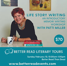 Life Writing Patti Miller Feb 19 Socials
