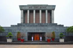 Ho Chi Minh mausoleum - Hanoi - Vietnam.