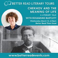 Chekhov Rosamund Bartlett Mar 19 Socials