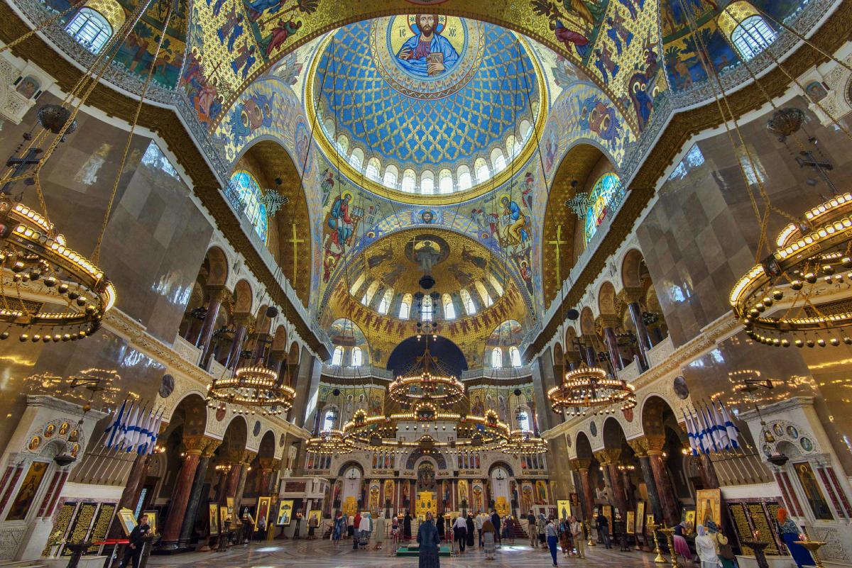 St Nicholas Naval Cathedral colour