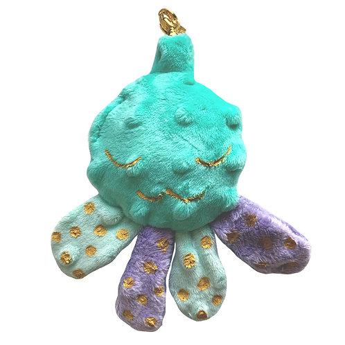 Mini doudou pieuvre