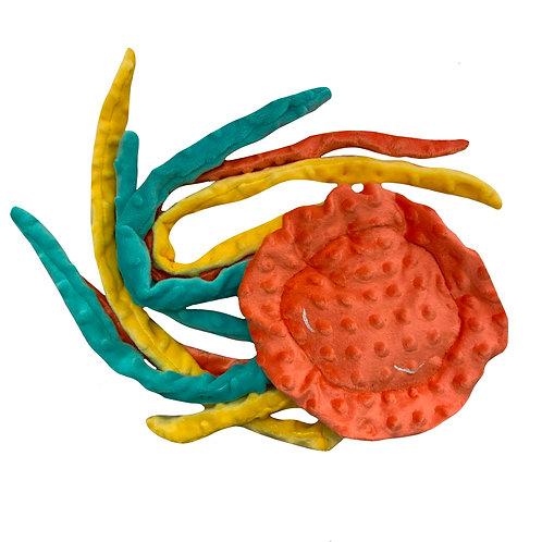 Doudou méduse sans rembourrage
