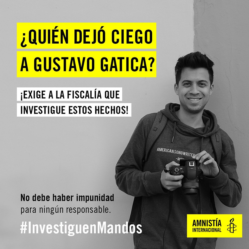 La campaña de Amnistía Internacional.