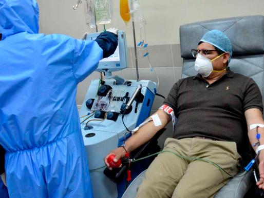 U de Chile inicia tratamientos de plasma capaz de revertir avance del covid-19 en pacientes críticos