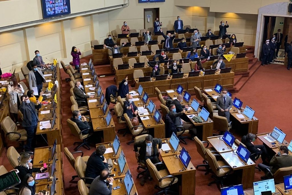 AFP 10% apreban Cámara de Diputados