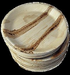 Ecofriendly Palm Leaf Round Plates