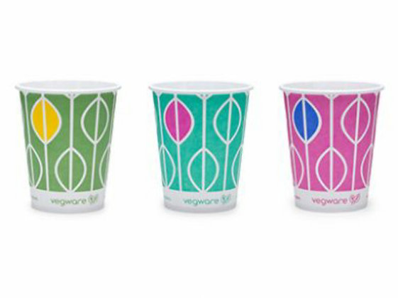 9oz 250 ml Single Wall (Cold) Bio Compostable Paper Cups
