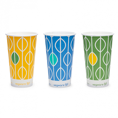 12 Oz 340 ml Single Wall (Cold) Bio compostable Paper Cup
