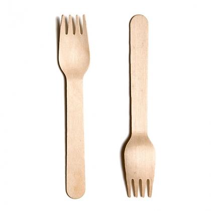 Wooden Fork 16cm