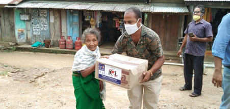 Food Boxes for Elderly