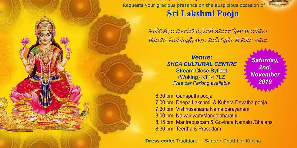 Lakshmi Pooja by SVBTCC