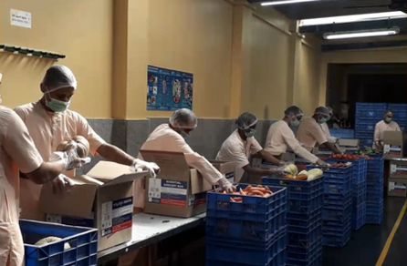 Food Donation Packing