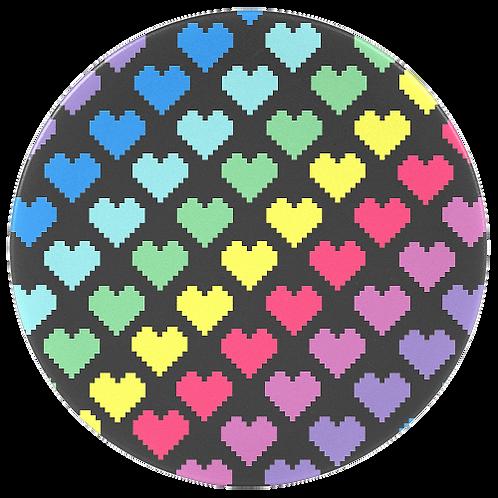 לבבות צבעוניים