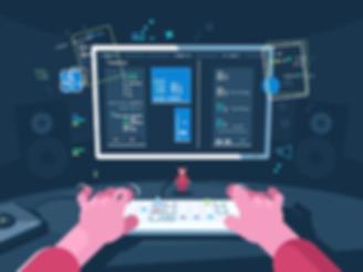 monitor and keyboard: programming