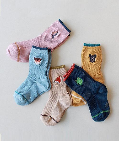 Socken im 5er-Pack - Think Animals