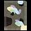 Thumbnail: Collage Notizheft aus Hanji (traditionelles koreanisches Papier)