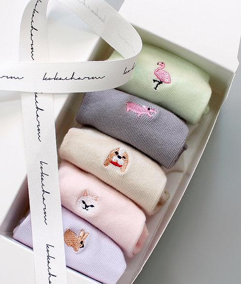 Socken im 5er-Pack - Softy Friends
